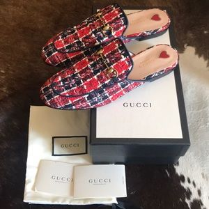 GUCCI AUTHENTIC *BRAND NEW* PRINCETOWN MULE SZ 39